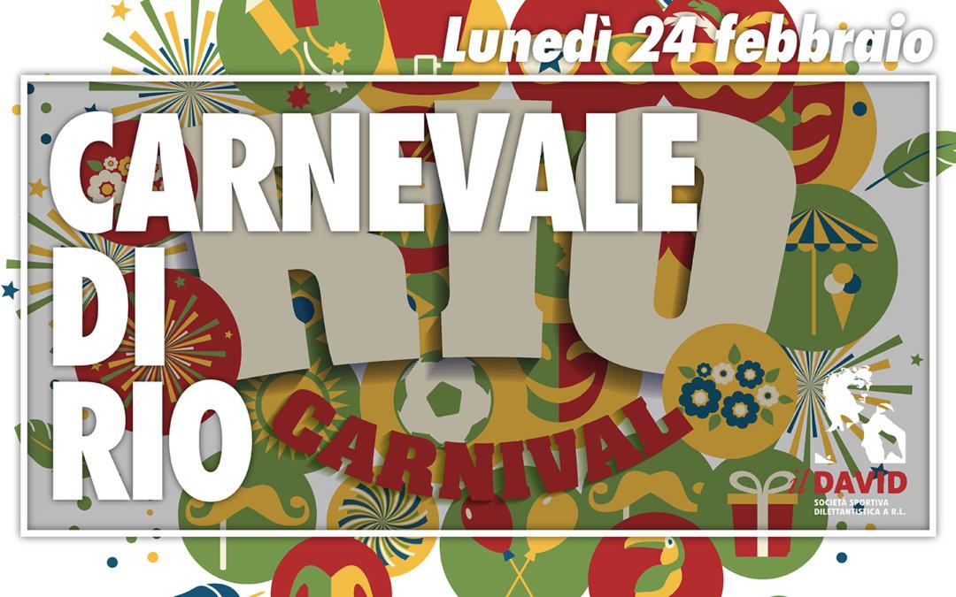 CARNEVALE DI RIO E PRIMO OPEN DAY DELL'ANNO